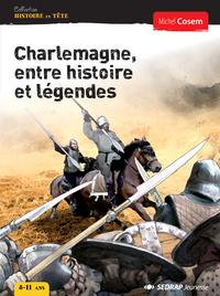 CHARLEMAGNE ENTRE HISTOIRE ET LEGENDES - LOT DE 25 ROMANS + 1 FICHIER