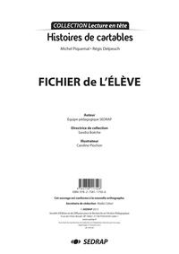 HISTOIRES DE CARTABLES - FICHIER