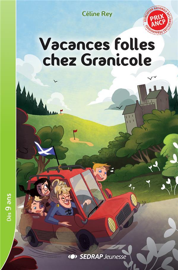 VACANCES FOLLES CHEZ GRANICOLE - LOT DE 10 ROMANS + FICHIER