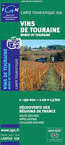 83107 VINS DE TOURAINE  1/150.000