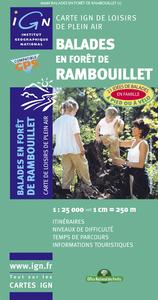 82089 BALADES EN FORET DE RAMBOUILLET  1/25.000