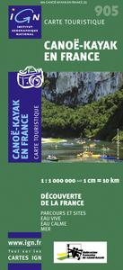 CANOE-KAYAK EN FRANCE  1/1M