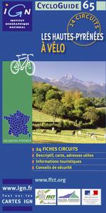 CYCLOGUIDE 65 HAUTES-PYRENEES A VELO