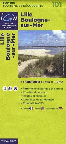 AED LILLE/BOULOGNE-SUR-MER  1/100.000