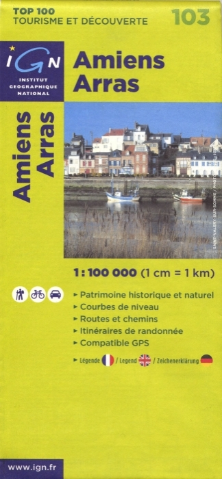 AED AMIENS/ARRAS  1/100.000