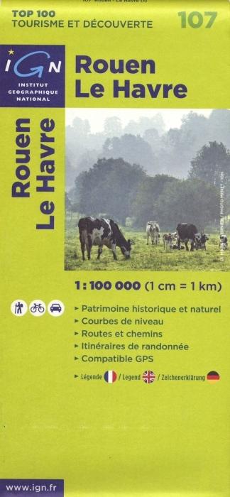 AED ROUEN/LE HAVRE  1/100.000