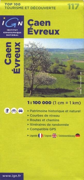 AED CAEN/EVREUX  1/100.000