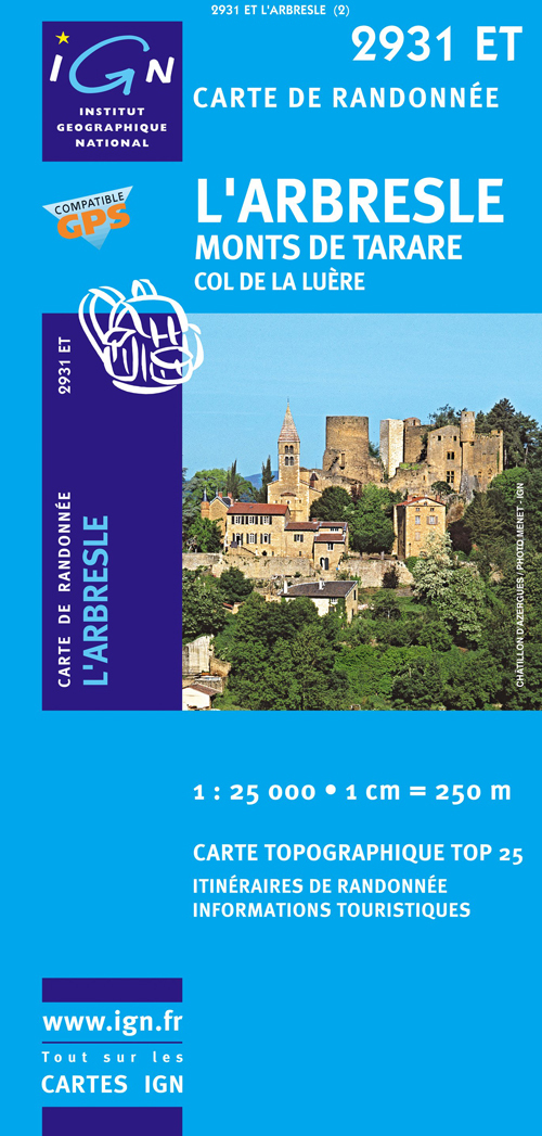 AED 2931ET L'ARBRESLE