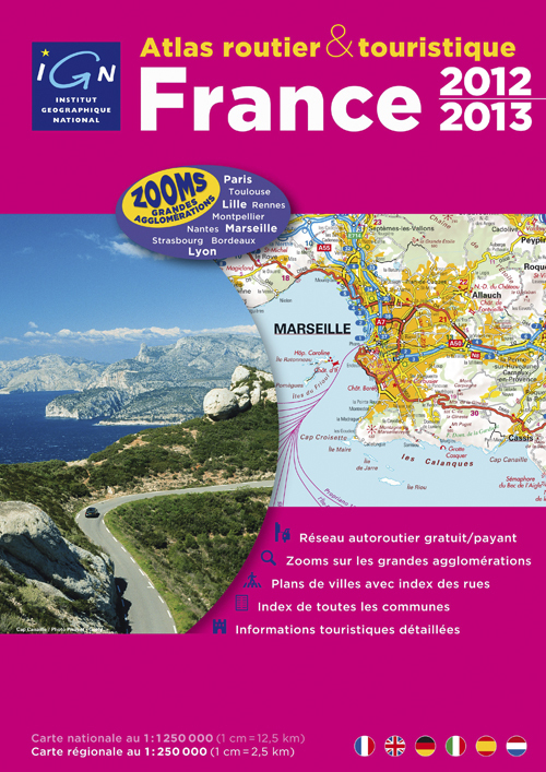 AED ATLAS ROUTIER FRANCE 2011 (SPIRALES)