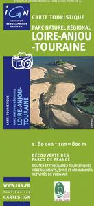 P.N.R. LOIRE-ANJOU-TOURAINE  1/80.000