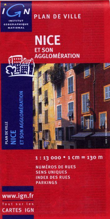 AED PLAN DE NICE  1/13.000