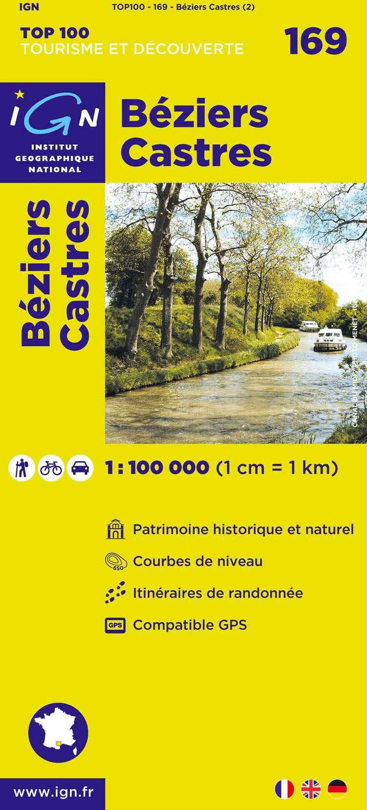 AED BEZIERS/CASTRES  1/100.000