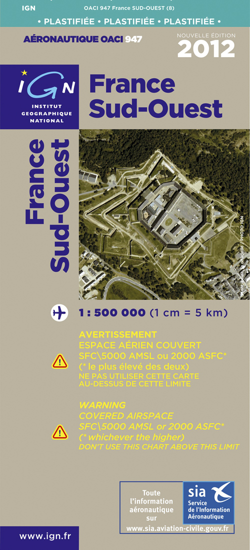 AED OACI947 FRANCE SUD-OUEST PLAST.2011