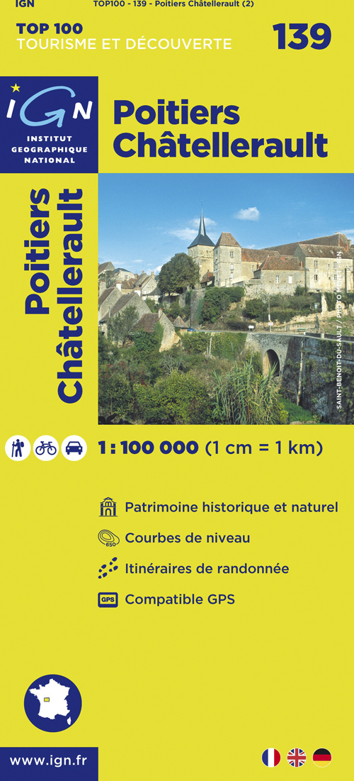 AED POITIERS/CHATELLERAULT  1/100.000