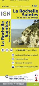 AED TOP100138 LA ROCHELLE/SAINTES  1/100.000