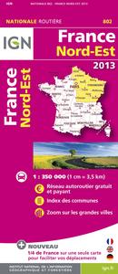 FRANCE NORD-EST 2013