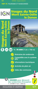 TOP75027 VOSGES DU NORD/MONT ST-ODILE/LE DONON