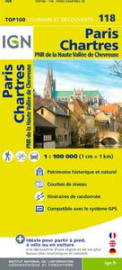 AED TOP100118 PARIS/CHARTRES  1/100.000