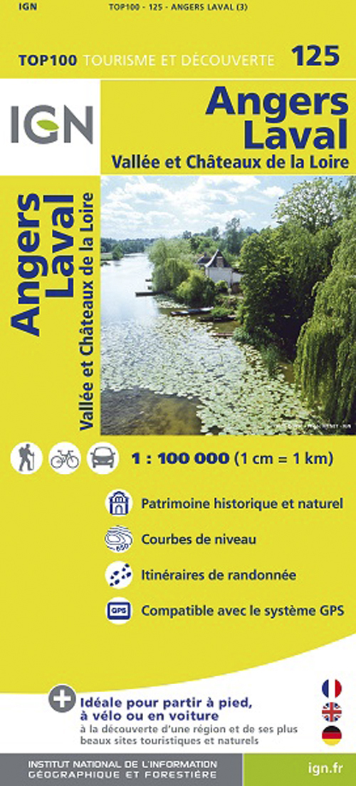 AED TOP100125 ANGERS/LAVAL  1/100.000