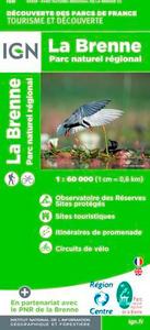 LA BRENNE PARC NATUREL REGIONAL 1/60.000