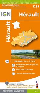 D34 HERAULT  1/150.000