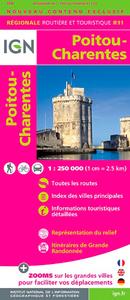 R11 POITOU/CHARENTES  1/250.000