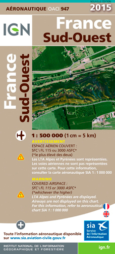 AED OACI947 FRANCE SUD-OUEST PLAST.2015