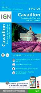 3142OT CAVAILLON/FONTAINE-DE-VAUCLUSE/PNR DU LUBERON