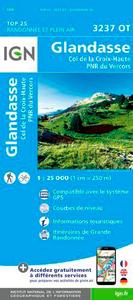 3237OT GLANDASSE/COL DE LA CROIX-HAUTE/PNR DU VERCORS