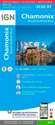 3630OTR CHAMONIX/MASSIF DU MONT-BLANC (RESISTANTE)