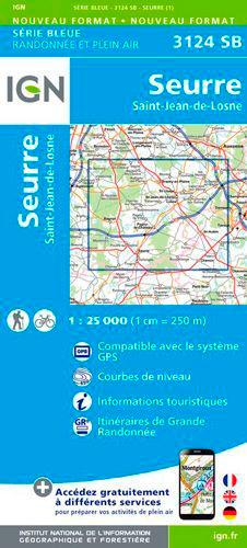 3124SB SEURRE.SAINT-JEAN-DE-LOSNE