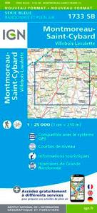 1733SB MONTMOREAU-ST-CYBARD.VILLEBOIS-LAVALETTE