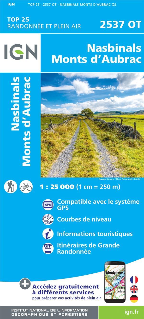 2537OT NASBINALS.MONTS D'AUBRAC