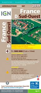 OACI943 FRANCE SUD-OUEST 2019 1/500.000