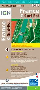 OACI948 FRANCE SUD-EST PELLICULEE 2019 1/500.000