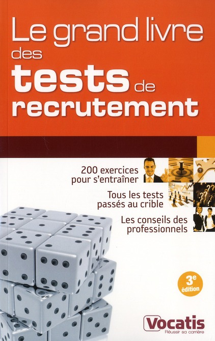 GRAND LIVRE DES TESTS DE RECRUTEMENT 2 EDT