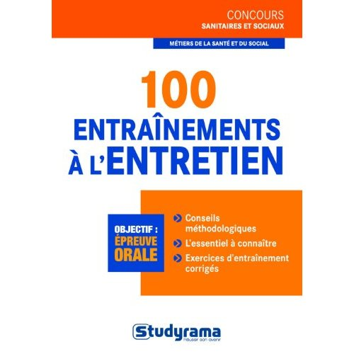 100 ENTRAINEMENTS A L'ENTRETIEN