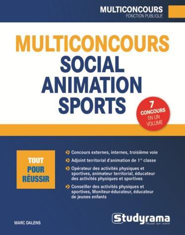 MULTICONCOURS SOCIAL ANIMATION SPORT