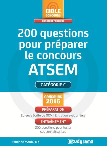 200 QUESTIONS POUR PREPARER LE CONCOURS ATSEM