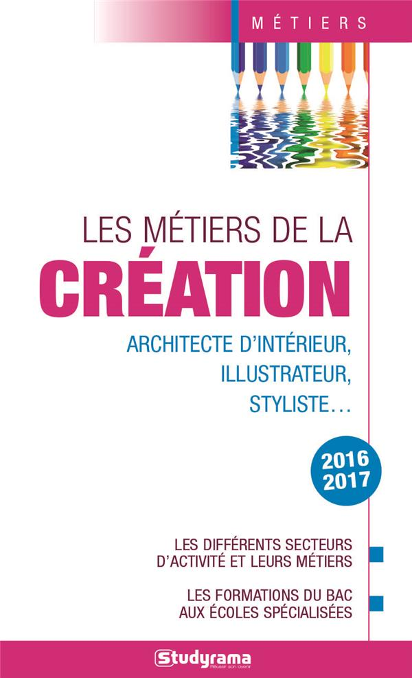 METIERS DE LA CREATION (LES) 2016-2017