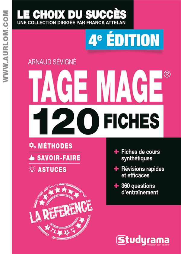 120 FICHES TAGE MAGE 4 ED