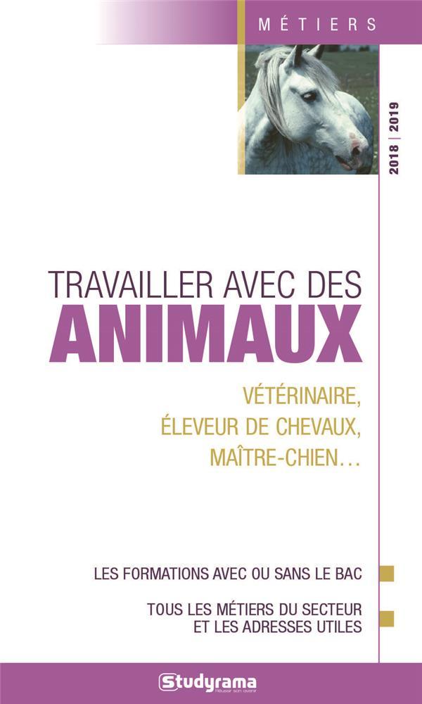TRAVAILLER AVEC DES ANIMAUX 2018-2019