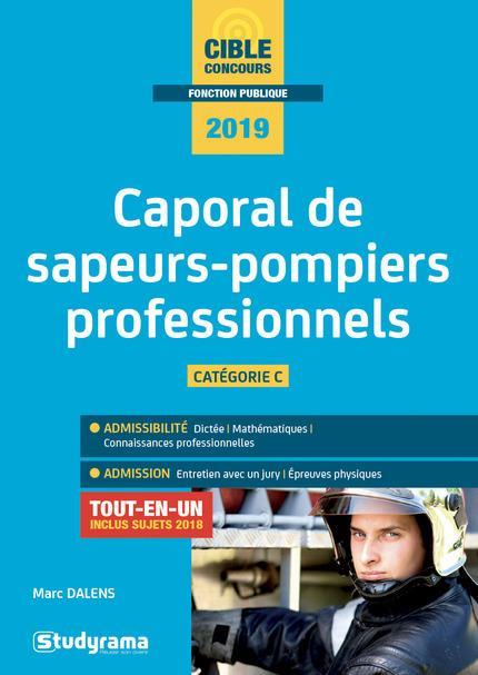 CAPORAL DE SAPEURS-POMPIERS PROFESSIONNEL