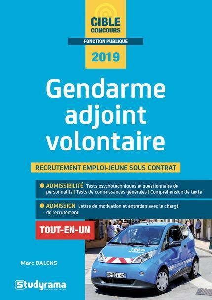 GENDARME ADJOINT VOLONTAIRE 2019
