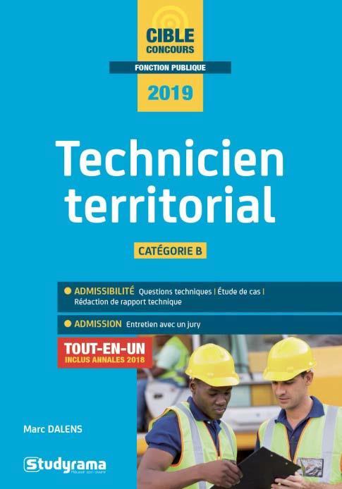 TECHNICIEN TERRITORIAL 2019
