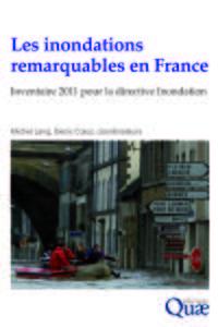 LES INONDATIONS REMARQUABLES EN FRANCE INVENTAIRE 2011 POUR LA DIRECTIVE INONDAT