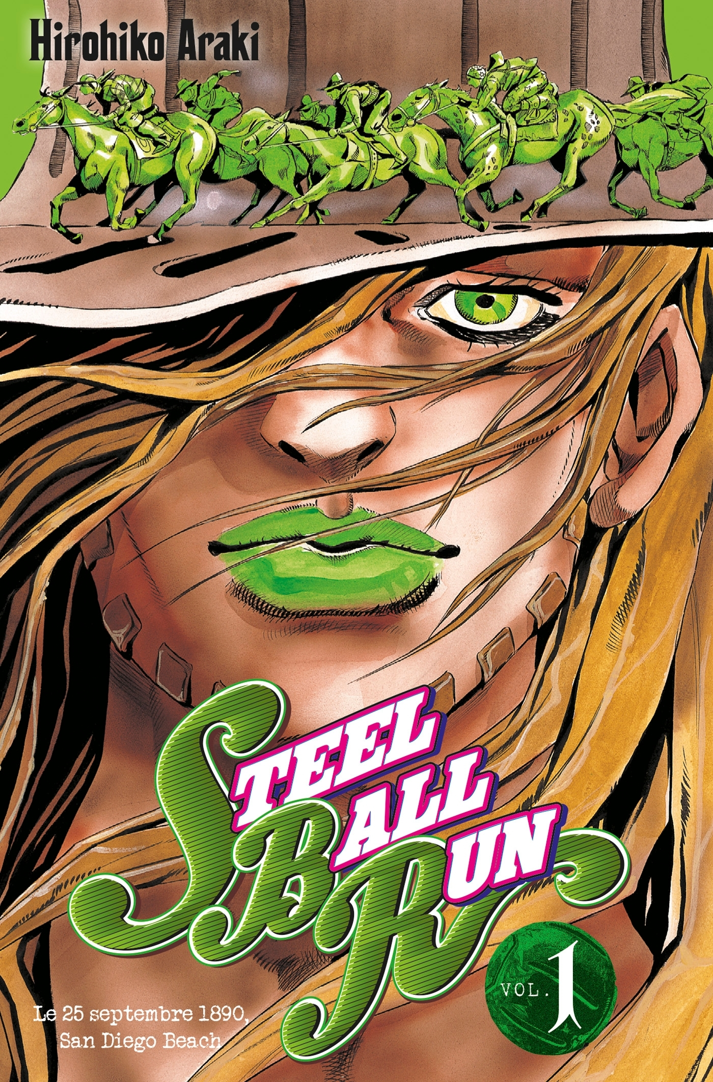 JOJO S - STEEL BALL RUN T01