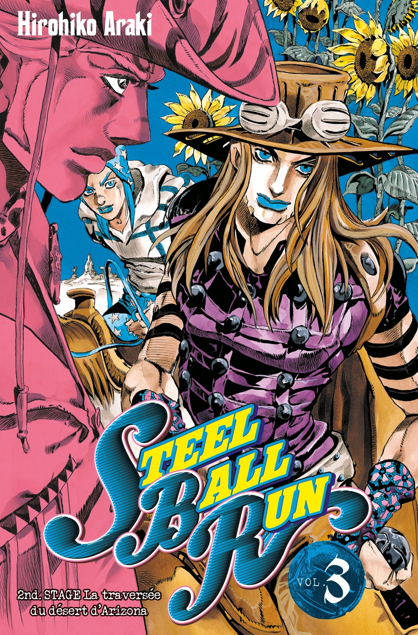 JOJO S - STEEL BALL RUN T03