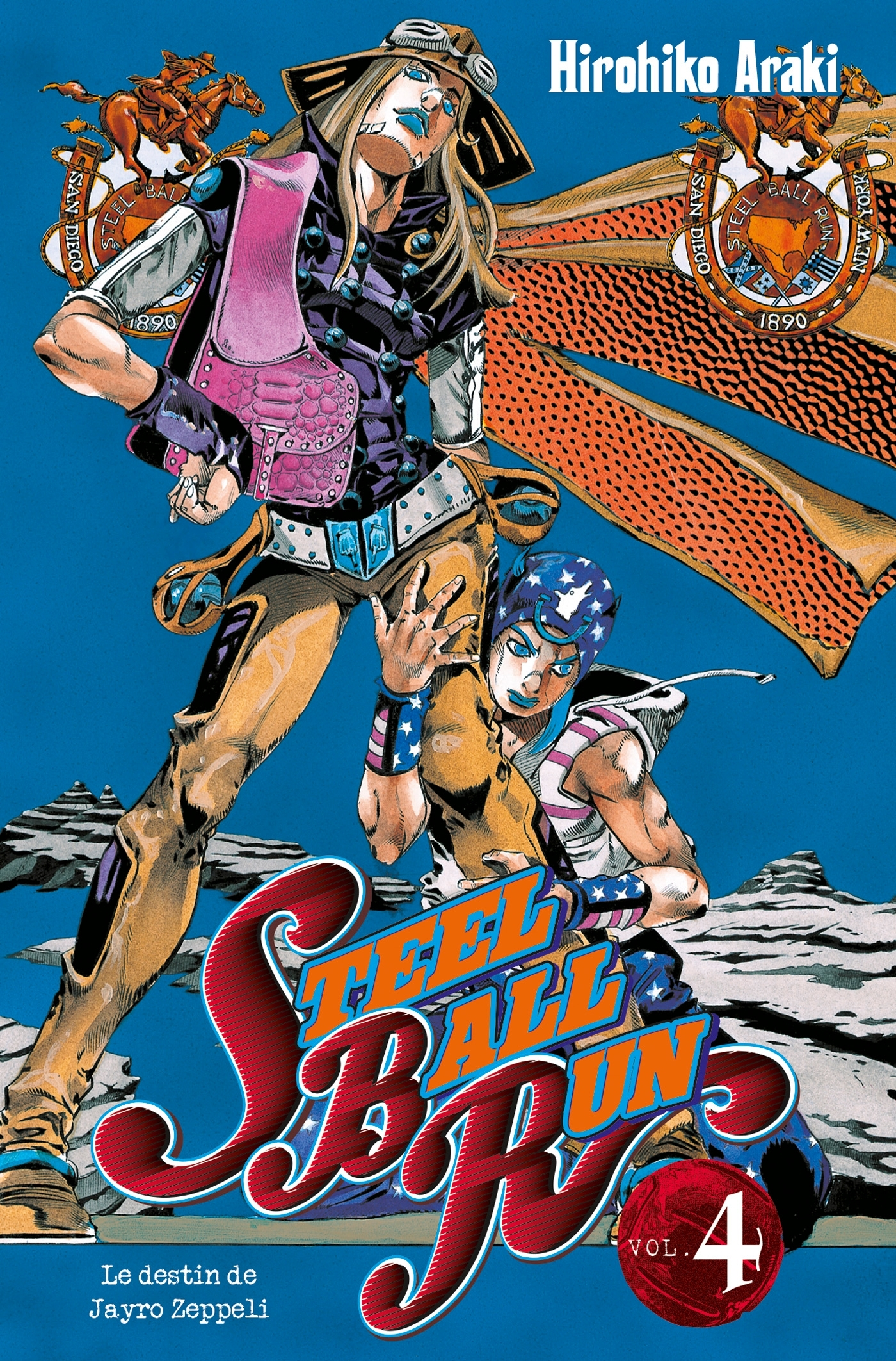 JOJO S - STEEL BALL RUN T04