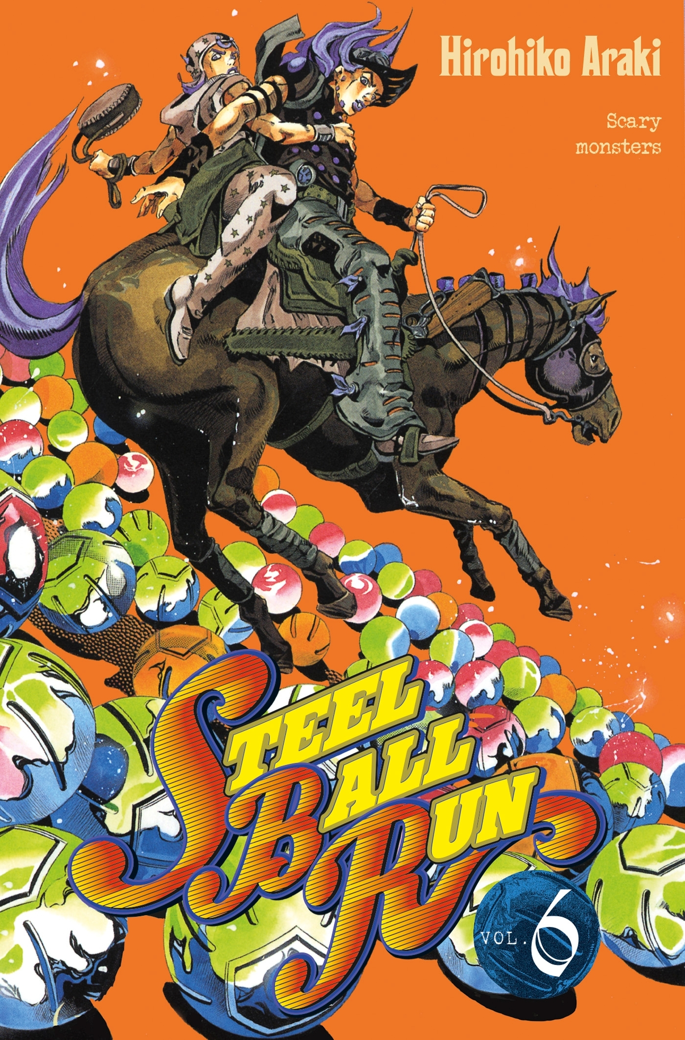 JOJO S - STEEL BALL RUN T06